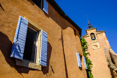 Rousillon, Vaucluse. Provence Royalty Free Stock Images