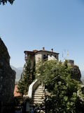 Roussanou. Beautiful monasteries of Meteora, Greece Royalty Free Stock Images