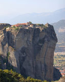 Roussanou Monastery. In Meteora in Greece at summer Stock Photos