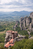 Roussanou Monastery Royalty Free Stock Images