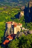 Roussanou Monastery Royalty Free Stock Image