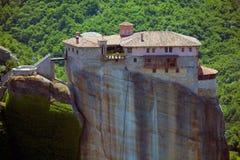 Roussanou monastery, Meteora Stock Image