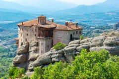 Roussanou Monastery. Meteora, Greece Royalty Free Stock Image