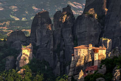 Roussanou Monastery at Meteora Monasteries in Trikala region, Gr Stock Photography