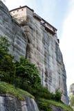 Roussanou nunnery (World Heritage Site) in Meteora (Kalambaka) in Central Greece Royalty Free Stock Photos