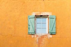 Roussillion window Stock Photos