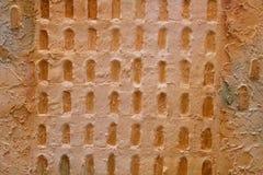 Часть древней стены Руссильон, Франция стоковое изображение