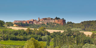 Roussillon stock photography