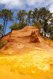 Roussillon Lizenzfreies Stockfoto