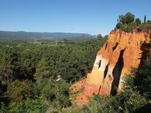 Roussillon Obrazy Stock