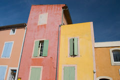 Roussillon Buildings Stock Image