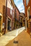 Roussillon, de Provence Royalty-vrije Stock Afbeeldingen