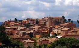 Roussillon in de Provence Stock Afbeeldingen