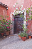 Roussillon doorway Royalty Free Stock Image