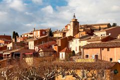 Roussillon France Stock Photos