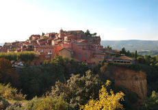 Roussillon France Royalty Free Stock Photography