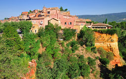 Roussillon,France Stock Photo