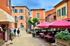Roussillon Royalty Free Stock Photo