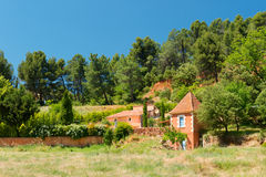 Roussillon in France Royalty Free Stock Images
