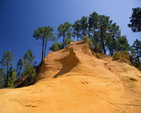 Roussillon landscape Royalty Free Stock Images