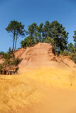 Roussillon ochres Royalty Free Stock Photos