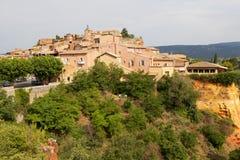 Roussillon Provence Arkivbild