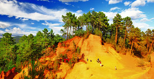 Free Roussillon, Provence, France Royalty Free Stock Photo - 43802705