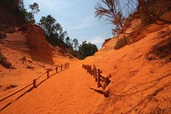 Roussillon, Provence, France Stock Photos
