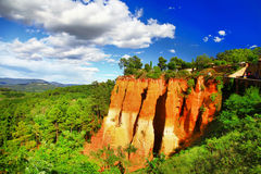 Roussillon, Provence, France stock image