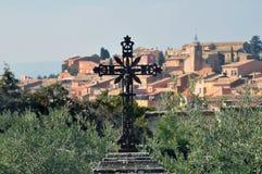 Roussillon Provence Francja Zdjęcie Stock