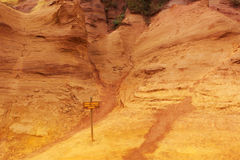 Roussillon, Provence Royalty Free Stock Photography