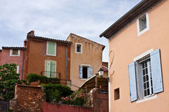 Roussillon's Architecture Stock Photo