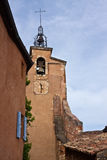 Roussillon's Church Stock Photography