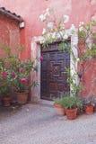 Roussillon-Tür Lizenzfreies Stockbild