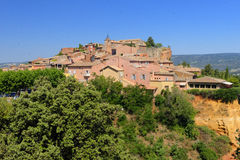 Roussillon village Royalty Free Stock Photography