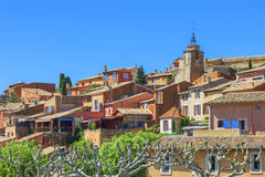 Roussillon village Stock Photography