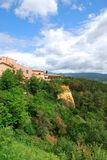 Roussillon village, France Royalty Free Stock Photography
