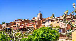 Roussillon village Royalty Free Stock Image