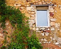 Roussillon Window Royalty Free Stock Photo