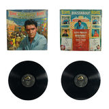 Roustabout album. MANILA, PH - CIRCA 1964: A rare copy of Elvis Presley movie roustabout soundtrack released in the Philippines on circa 1964 Royalty Free Stock Images