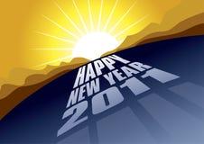 Route à 2011 Images libres de droits