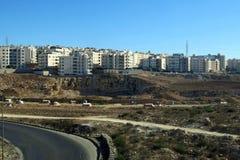 Route à Amman en Jordanie Images stock