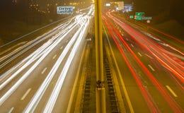 Route à Belgrade 1 image libre de droits