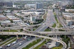 Route à Dallas, Tx, Etats-Unis images libres de droits