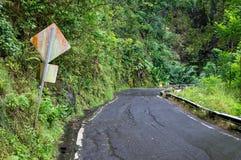 Route à Hana Photos libres de droits