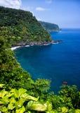 Route à Hana, Maui images stock