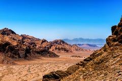 Route à Kashan photos libres de droits