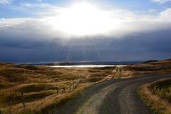 Route à l'or Photo libre de droits