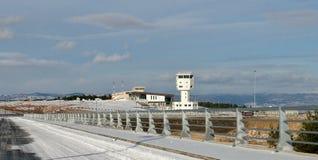 Route à l'aéroport Kastamonu Turquie Photographie stock libre de droits