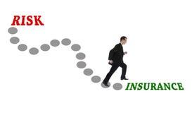 Route à l'assurance Photographie stock